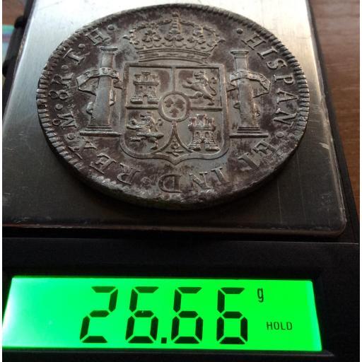 8 REALES PLATA 1805 - CARLOS IV - MEXICO [2]