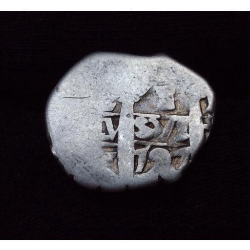 ESCASO 1 REAL DE PLATA DE 1727 - ACUÑADO EN LIMA (PERÚ)