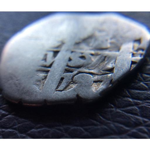 ESCASO 1 REAL DE PLATA DE 1727 - ACUÑADO EN LIMA (PERÚ) [3]