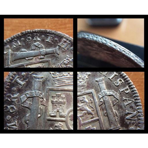8 REALES PLATA 1805 - CARLOS IV - MEXICO [3]
