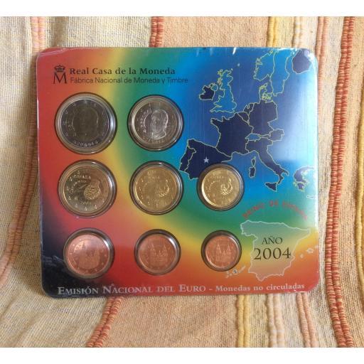 CARTERA ESPAÑA - SERIE EUROS 2004  [0]