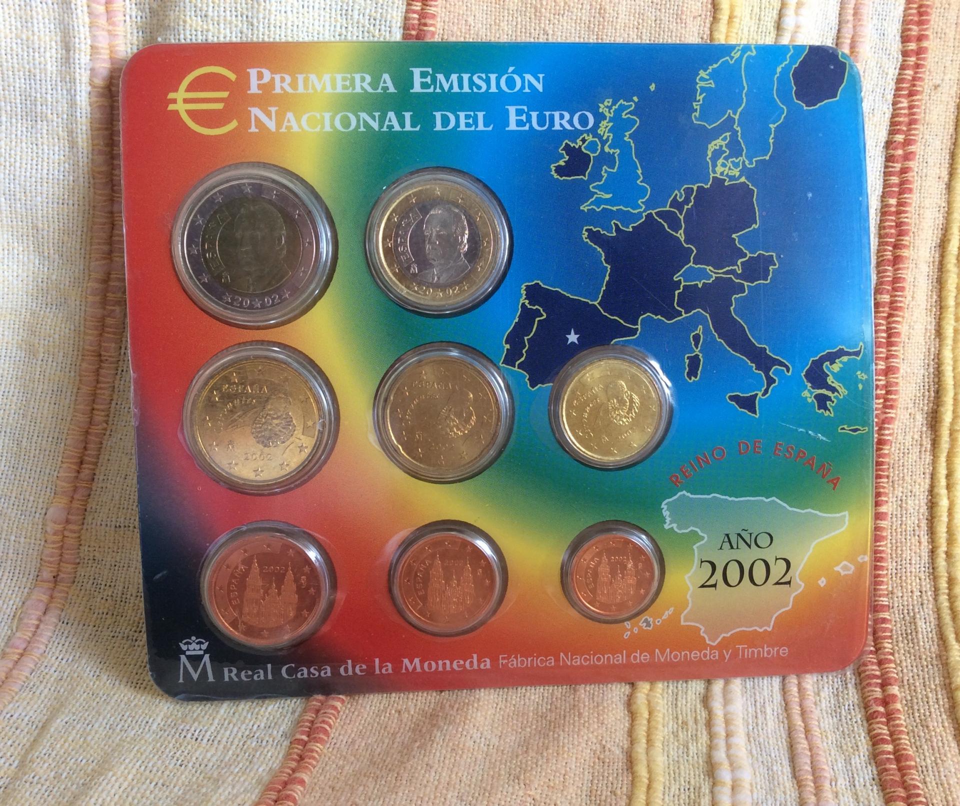 CARTERA ESPAÑA - SERIE EUROS 2002