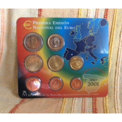 CARTERA ESPAÑA - SERIE EUROS 2001