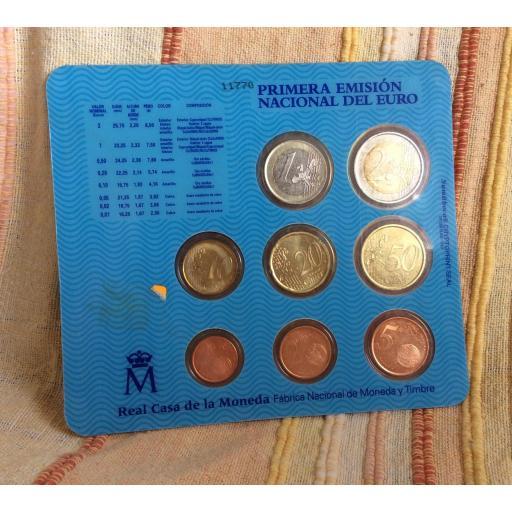 CARTERA ESPAÑA - SERIE EUROS 2001  [1]