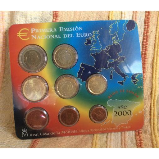 CARTERA ESPAÑA - SERIE EUROS 2000