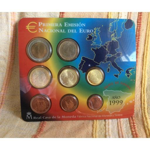 CARTERA ESPAÑA - SERIE EUROS 1999