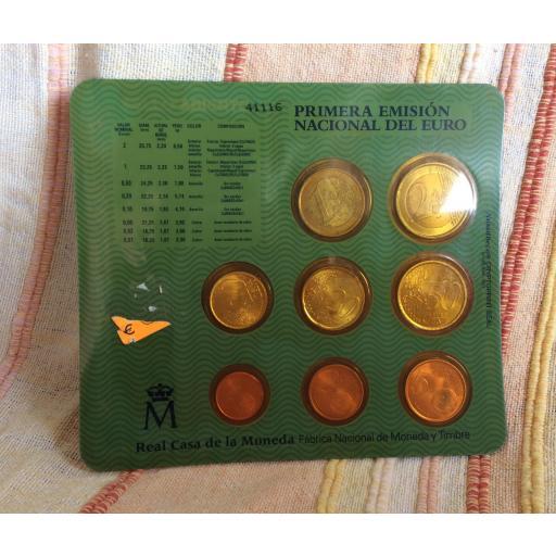 CARTERA ESPAÑA - SERIE EUROS 1999 [1]