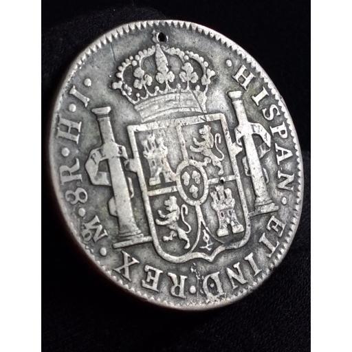 8 REALES 1810 - FERNANDO VII - CECA MÉXICO - BUSTO ALMIRANTE  [1]