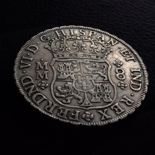 8 REALES 1755 - FERNANDO VI - MÉXICO [1]
