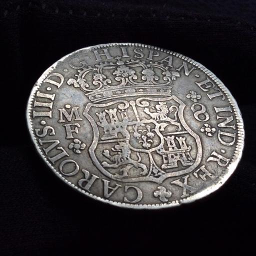 8 REALES 1768 - CARLOS III - MÉXICO  [1]