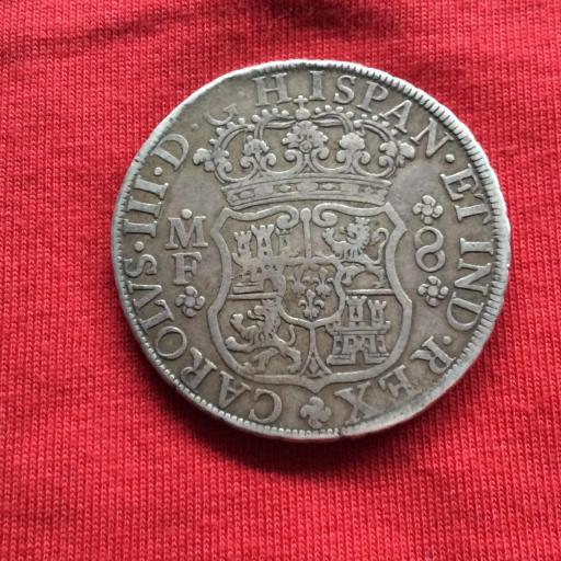 8 REALES 1768 - CARLOS III - MÉXICO  [2]