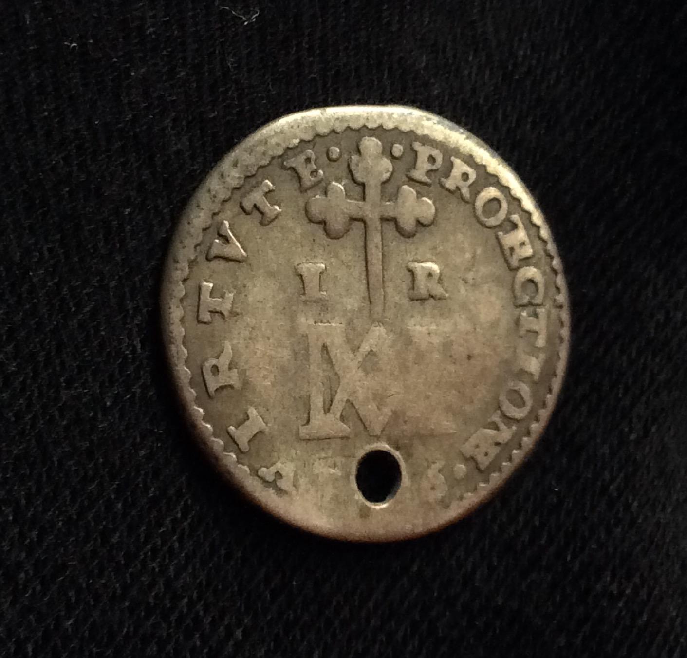 MUY ESCASO 1 REAL 1686 - CARLOS II - TIPO MARÍA - SEGOVIA