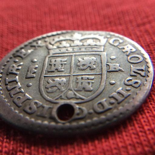 MUY ESCASO 1 REAL 1686 - CARLOS II - TIPO MARÍA - SEGOVIA  [2]