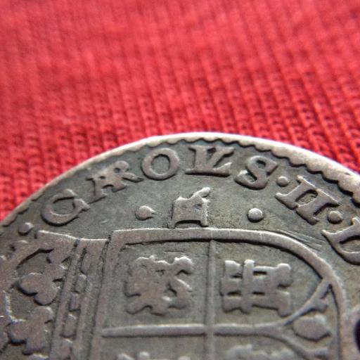 MUY ESCASO 1 REAL 1686 - CARLOS II - TIPO MARÍA - SEGOVIA  [3]