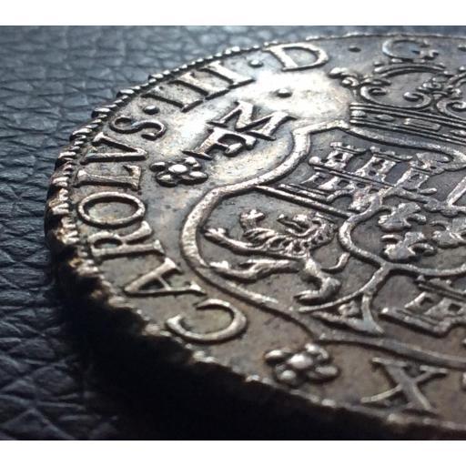 COLUMNARIO 8 REALES 1763 - CARLOS III [2]