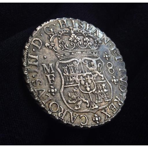 COLUMNARIO 8 REALES 1763 - CARLOS III [1]