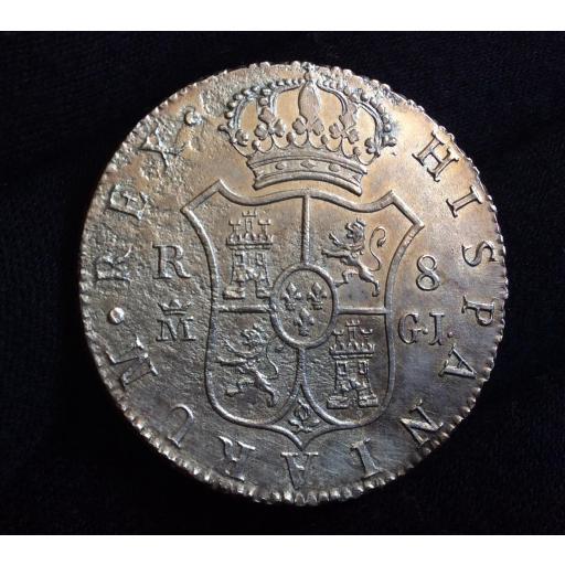 8 REALES 1818 - MADRID GJ - FERNANDO VII