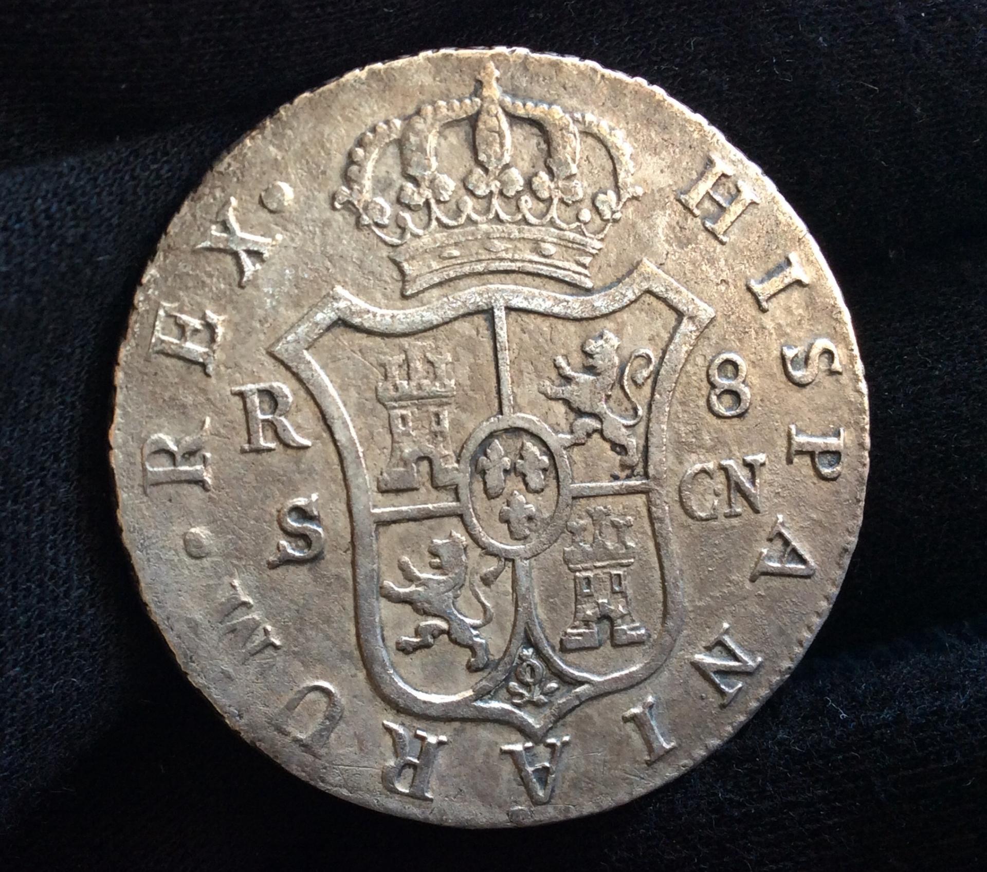 8 REALES 1808 - SEVILLA - FERNANDO VII
