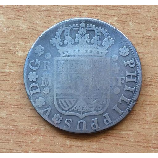 ESCASOS 4 REALES 1738 - FELIPE V - MADRID  [1]