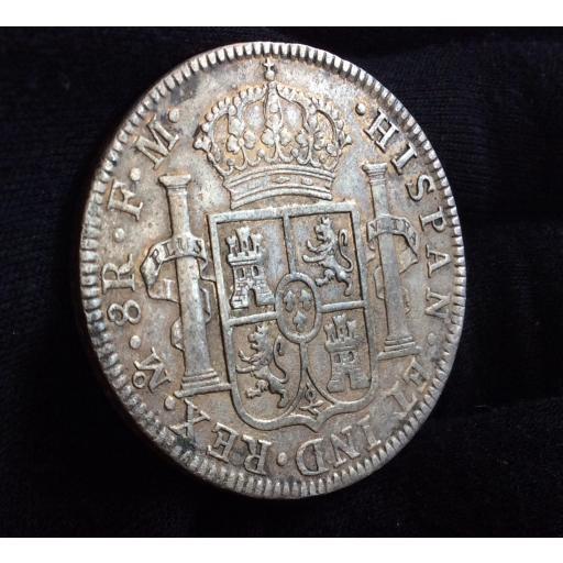 8 REALES 1793 - MÉXICO - CARLOS IV