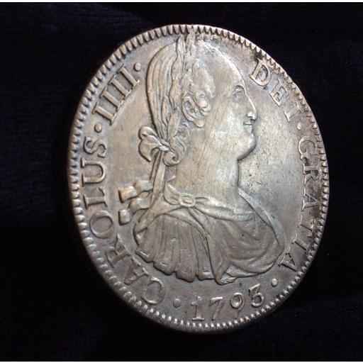 8 REALES 1793 - MÉXICO - CARLOS IV  [1]
