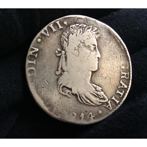 ESCASOS 8 REALES 1814 - GUATEMALA - FERNANDO VII [0]