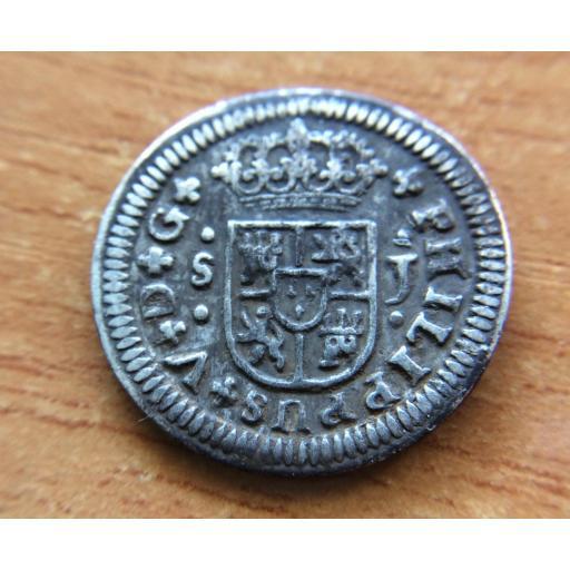 PRECIOSO REAL DE 1726 - FELIPE V - SEVILLA J [1]