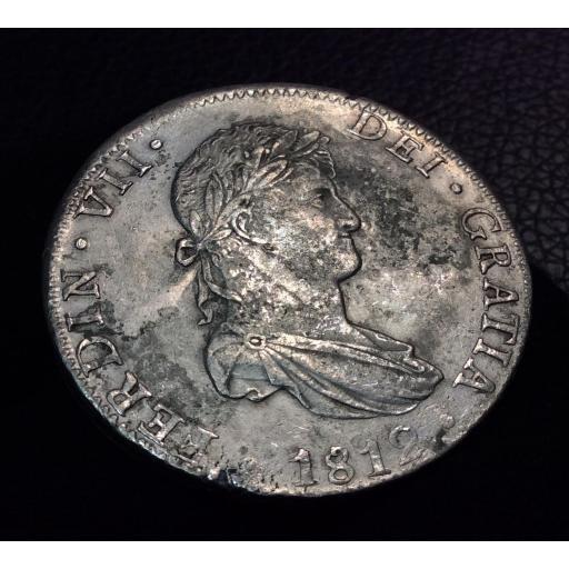 8 REALES 1812 - MÉXICO JJ - FERNANDO VII  [2]