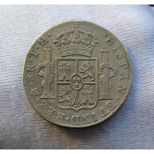 8 REALES 1804 - MÉXICO - CARLOS IV  [3]