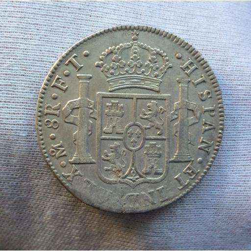 8 REALES 1807 - MÉXICO - CARLOS IV  [1]