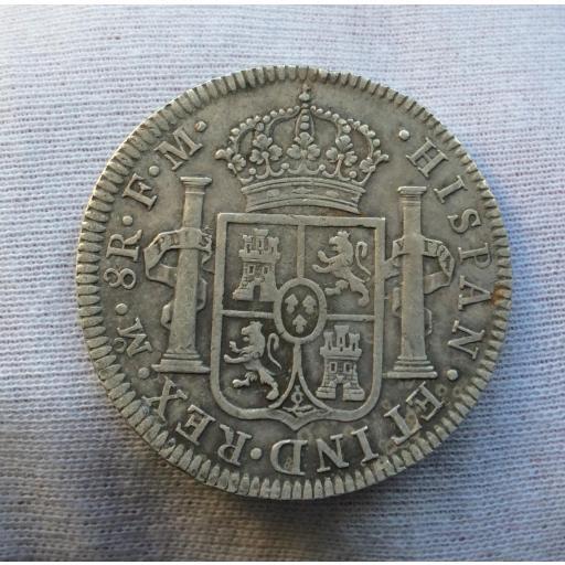 8 REALES 1795 - MÉXICO FM - CARLOS IV [1]