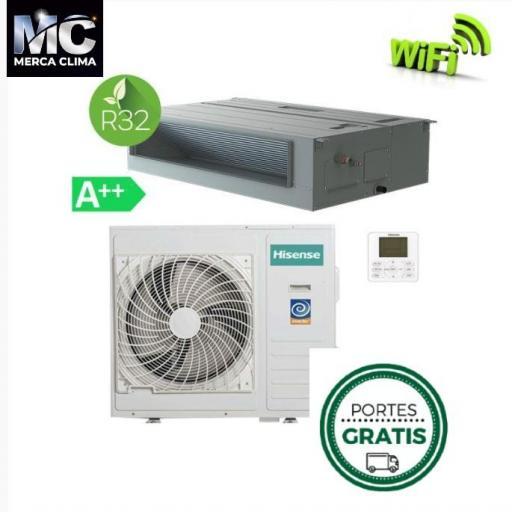 Hisense AUD71UX4RFCL4 WIFI Aire Acondicionado Conductos