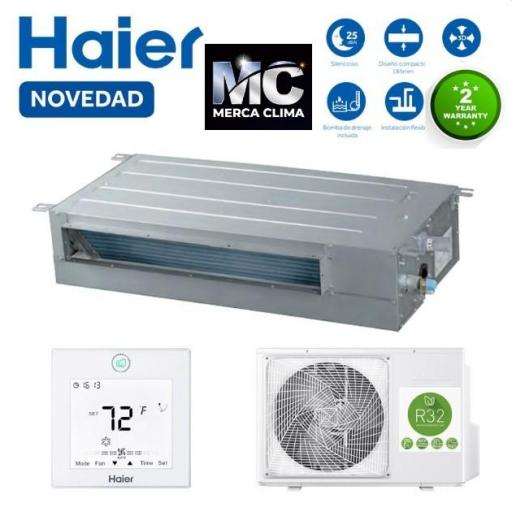 Haier Conductos Haier AD71S2SS1FA