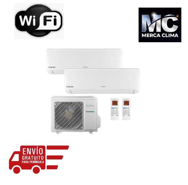 Aire Acondicionado Daitsu 2x1 Inverter ASD912K11I-DB A++ WiFi
