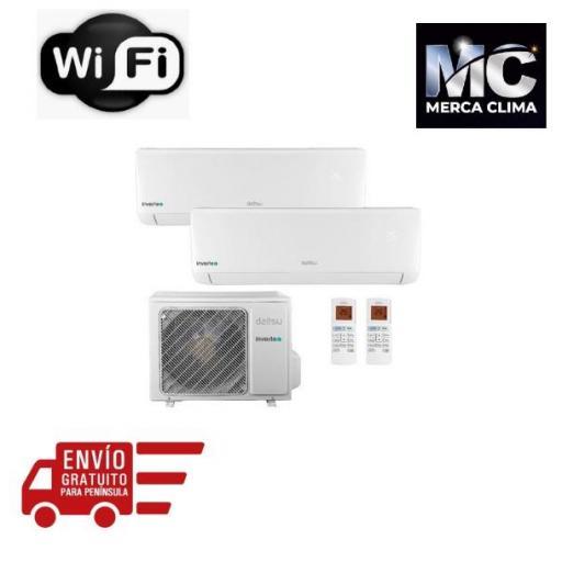 Aire Acondicionado Daitsu 2x1 Inverter ASD912K11I-DB A++ WiFi [0]