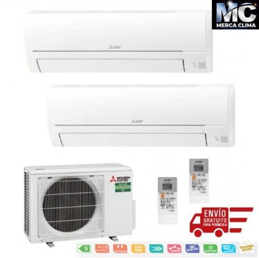 Mitsubishi Electric MXZ-2HA40VF + MSZ-HR25VF + MSZ-HR25VF Aire Acondicionado 2x1 [0]