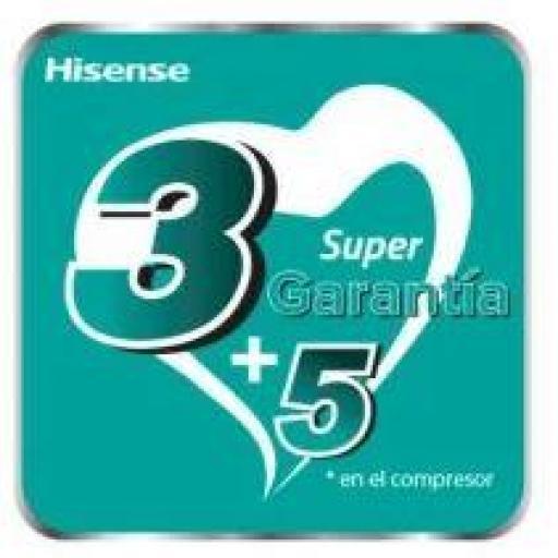 Hisense 2AMW40U4RXA + DJ25VE0AG + DJ35VE0AG WIFI Aire Acondicionado 2x1 [3]