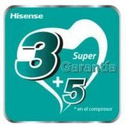 Aire Acondicionado Hisense Multi Split 4x1 105 + 25 + 25 + 25 +35 wifi [1]