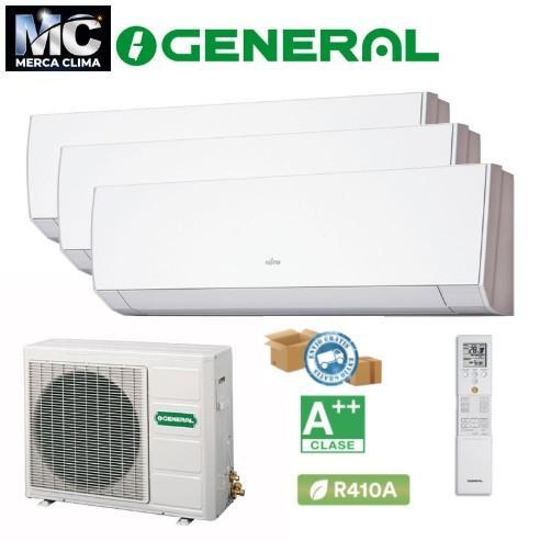 General Multi 3x1 AOG24UI MI3 + ASG 9MI-LM + ASG 12MI-LM + ASG 12MI-LM