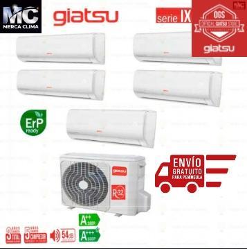 GIATSU MULTI SPLIT GIA-M05-42IX41BR32 + -09AR2R32+ 09AR2R32 + 09AR2R32 + 09AR2R32 + 09AR2R32 wifi