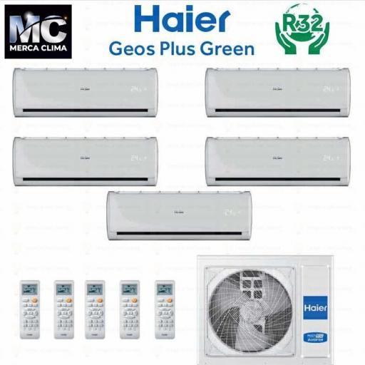 HAIER 5X1-5U105S2SR2FA + GEOS GREEN 25+25+25+25+35R32 wifi [0]