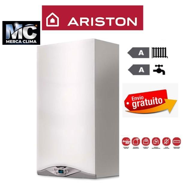Caldera de condensación Ariston HS Premium 24+ termostato  chaffoteaux
