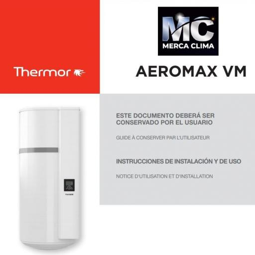 Thermor Aeromax Premium VM 100 L Bomba de calor [2]