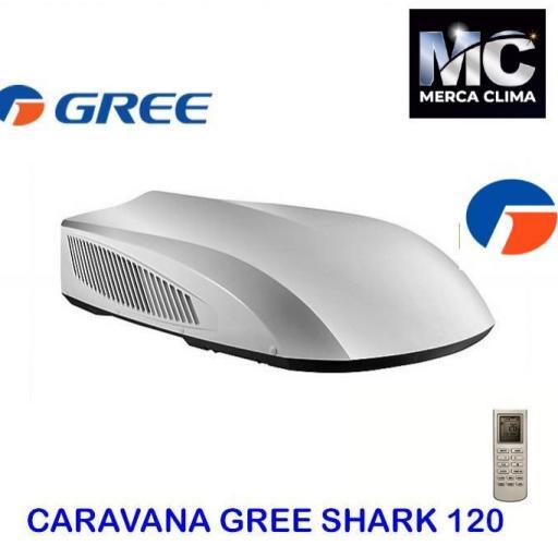 Aire Acondicionado Caravana GREE SHARK 120
