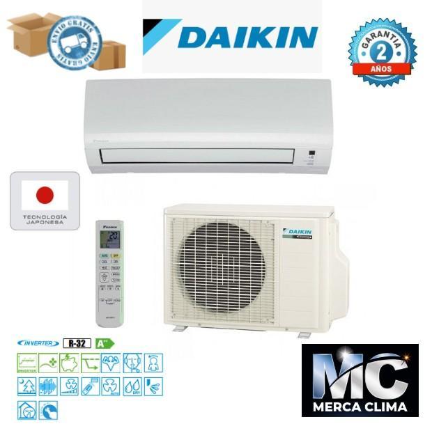 Daikin TXP20M  tipo Split 1x1 Inverter R-32. Clase A++/A++