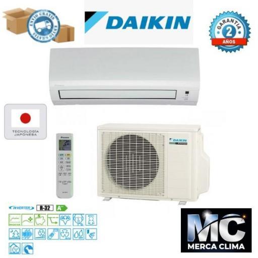 Daikin TXF35B Aire Acondicionado 1x1
