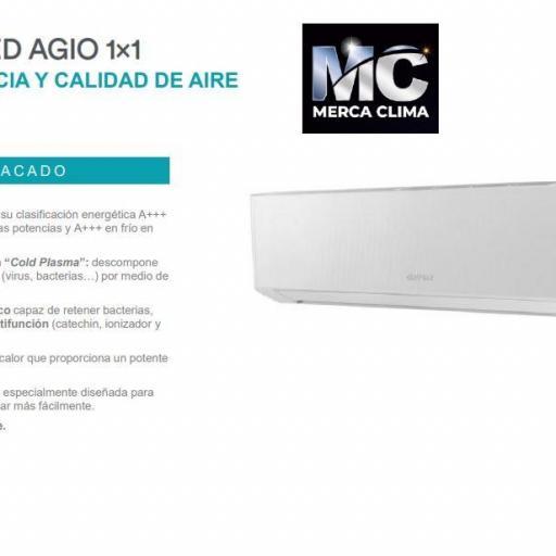 Aire Acondicionado Split Daitsu AGIO ASD 18K-DG WiFi [3]