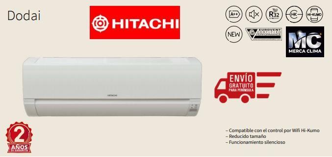 Hitachi Dodai 25 Aire Split 1x1