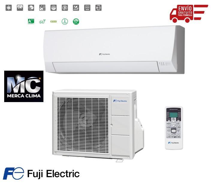 LOTE 5 SPLIT Aire acondicionado 1x1 Fuji Electric ASF09UI-LLCC