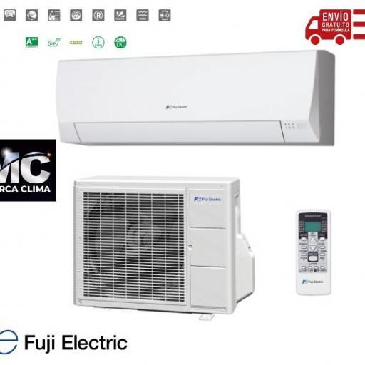LOTE 5 SPLIT Aire acondicionado 1x1 Fuji Electric ASF09UI-LLCC [0]